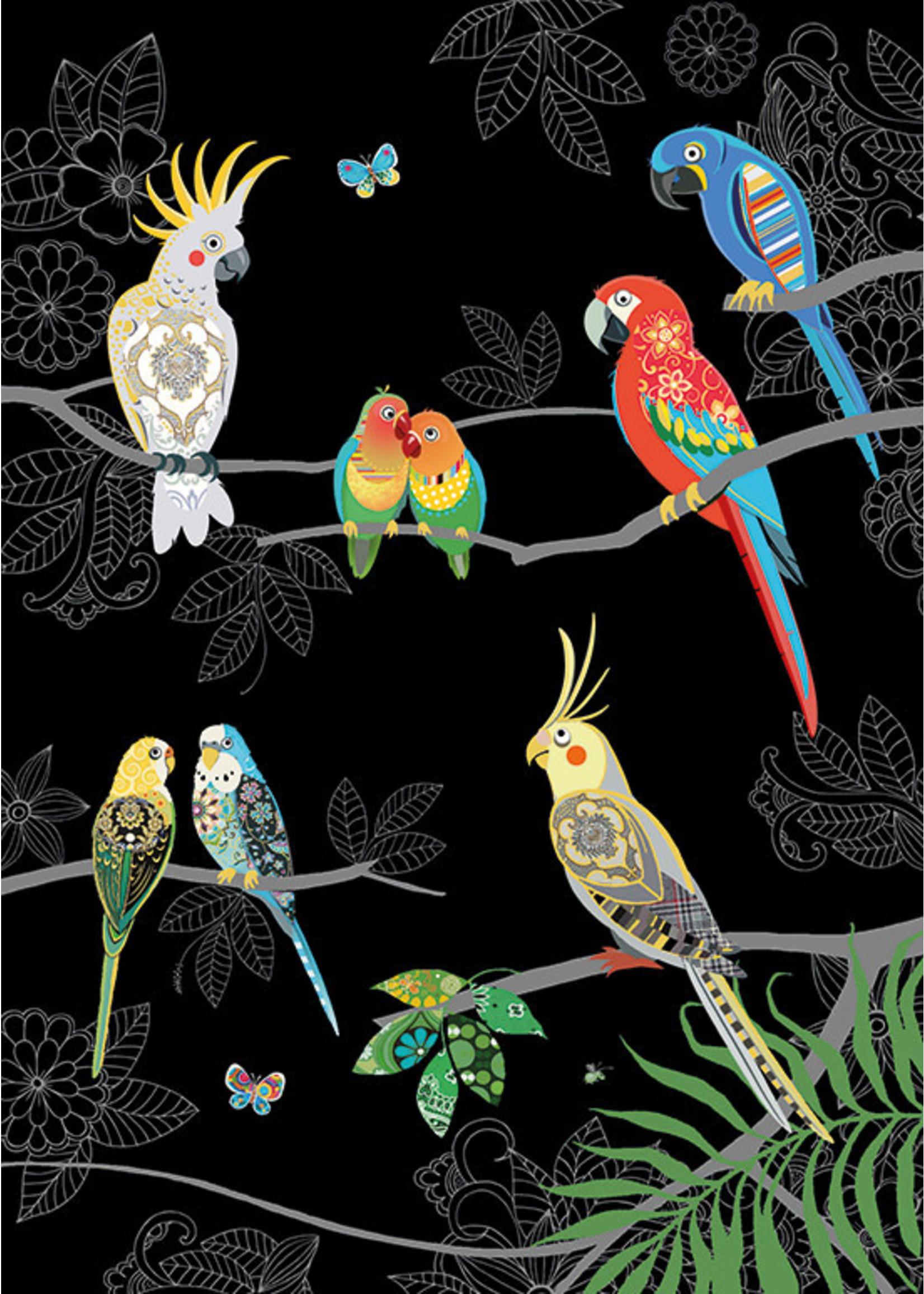 Bug Art Tropical Birds