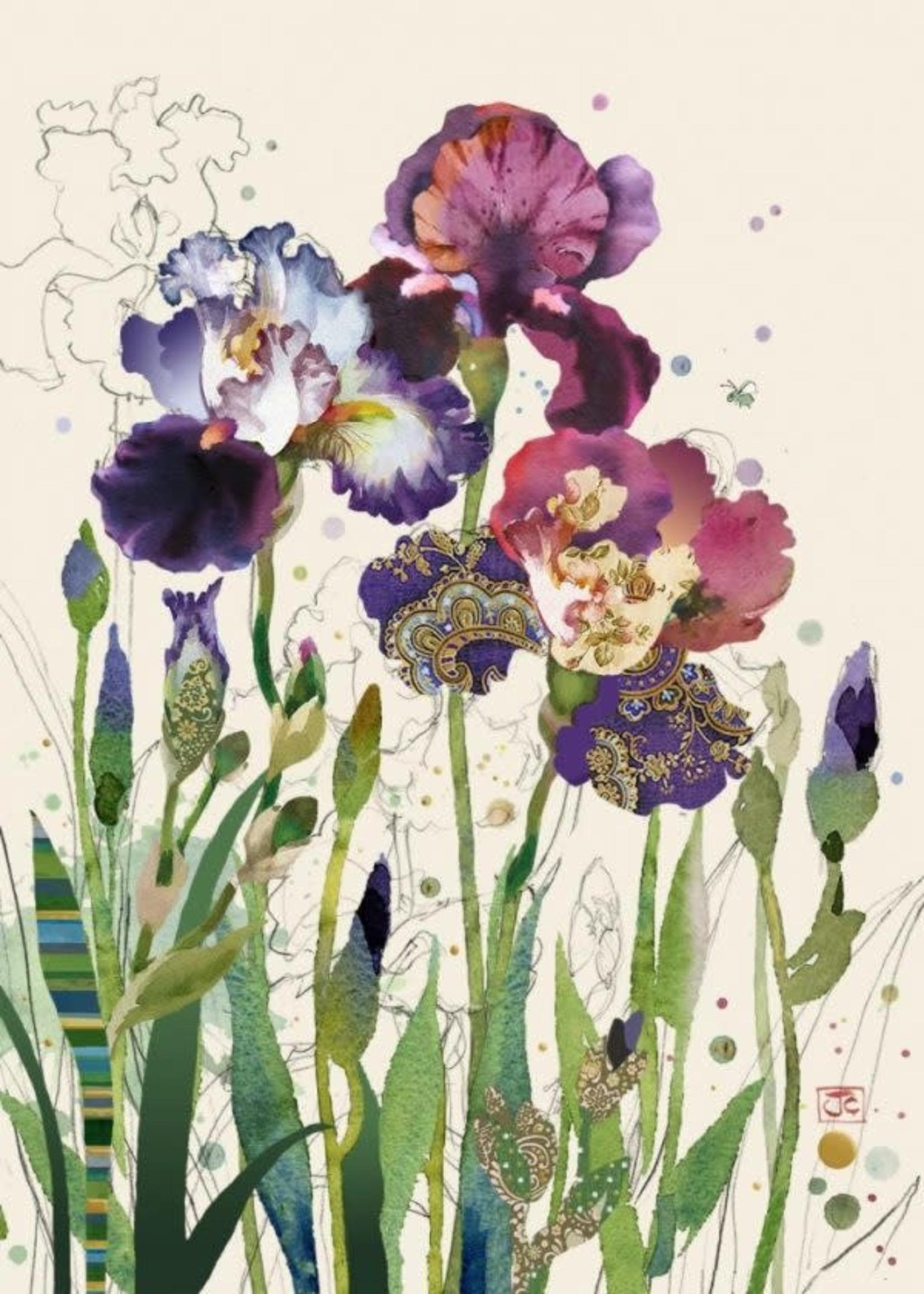 Bug Art Mixed Irises