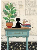 Bug Art Table Kitty