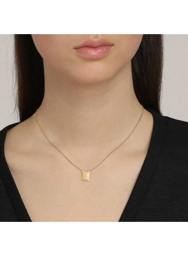 Necklace Yggdrasil Gold Plated