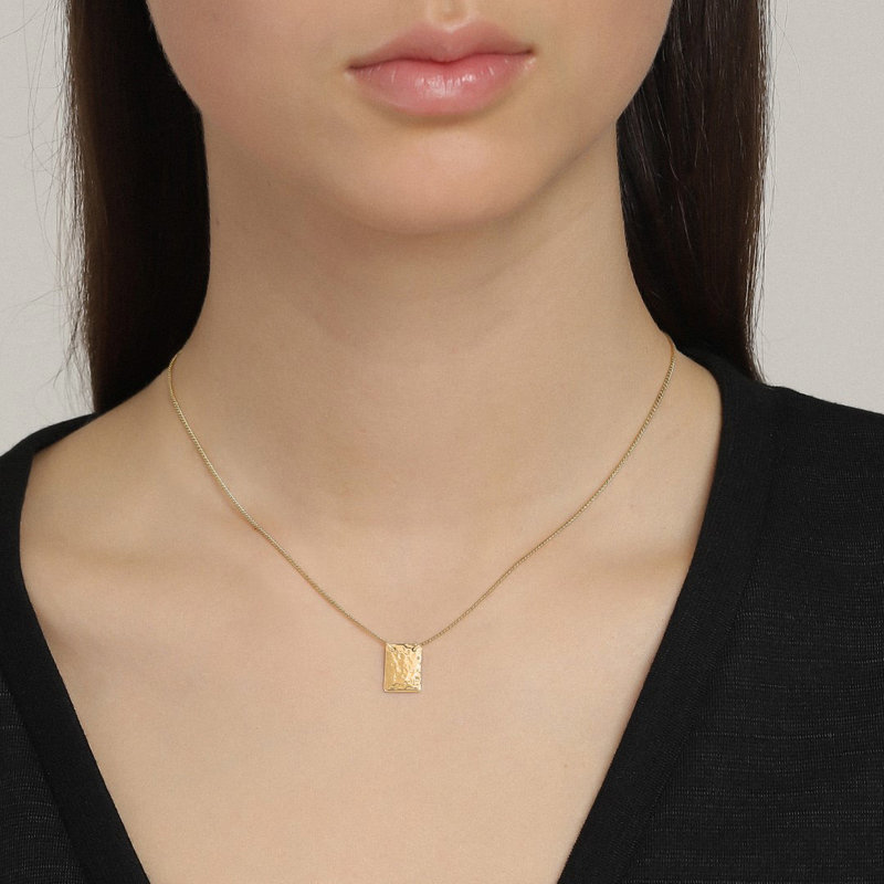 Pilgrim Necklace Yggdrasil Gold Plated