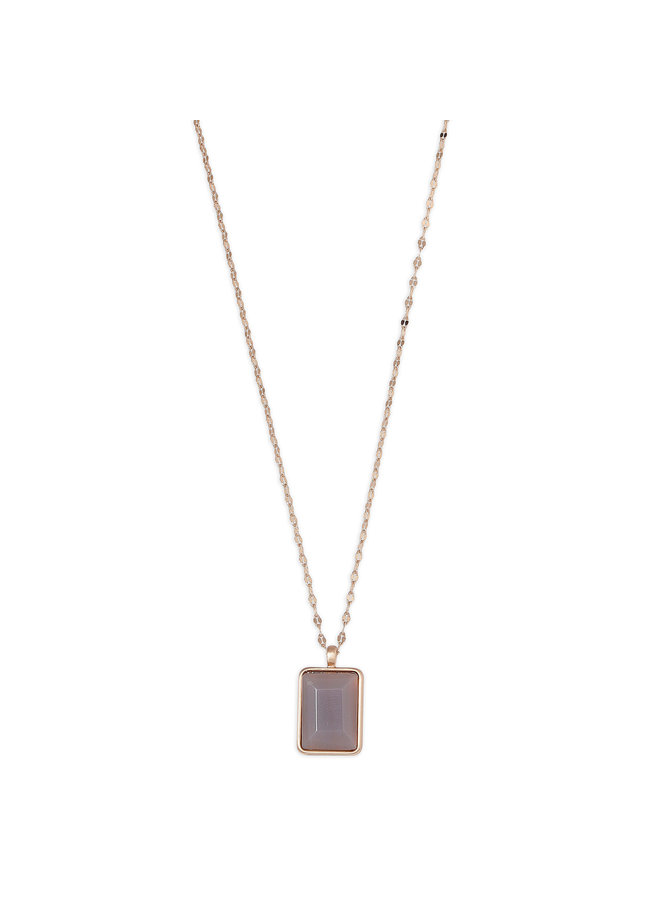 Necklace Verdandi Purple Matrix