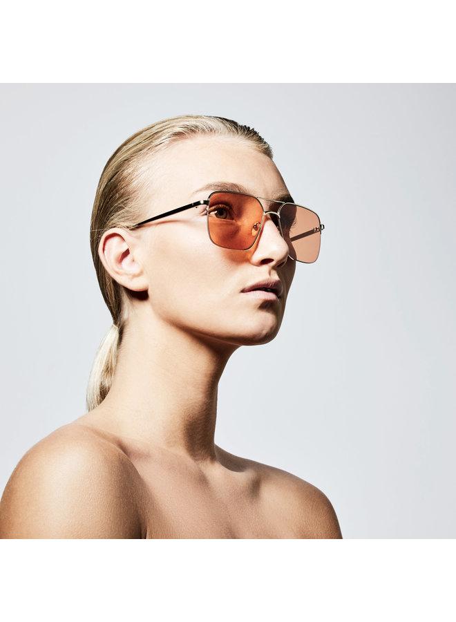 Sunglasses Sage Gold Plated Orange - 752112922