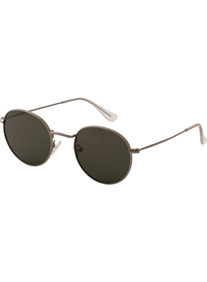 Sunglasses Pine Silver Plated Green - 752116421