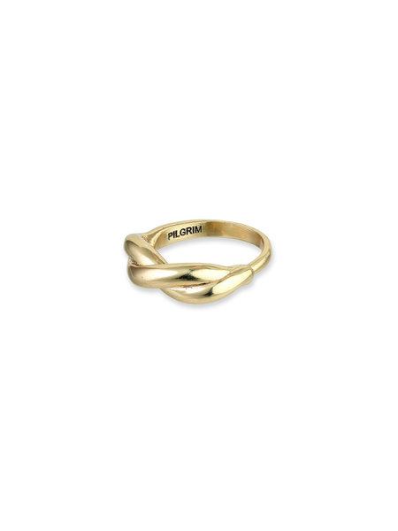 Pilgrim Ring Skuld Gold Plated - 111942004