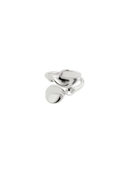 Pilgrim Ring Hollis Silver Plated - 632036014