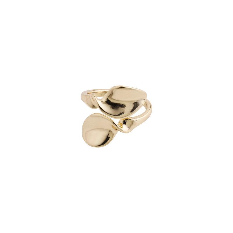 Pilgrim Ring Hollis Gold Plated - 632032014