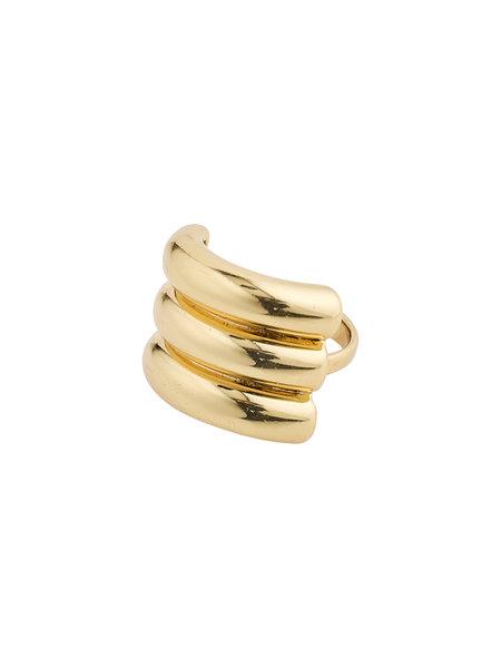 Pilgrim Ring Heritage Gold Plated - 112112004