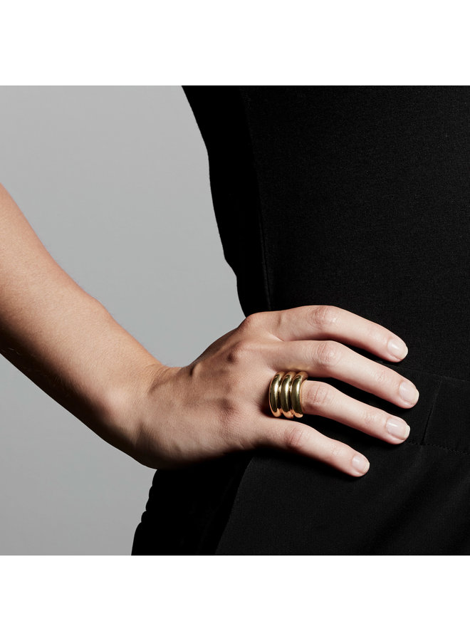Ring Heritage Gold Plated - 112112004