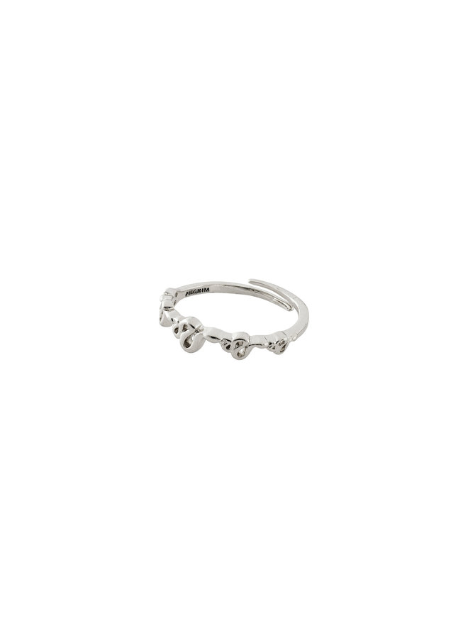 Ring Blaze Silver Plated - 602016014