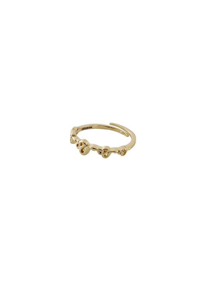 Ring Blaze Gold Plated - 602012014