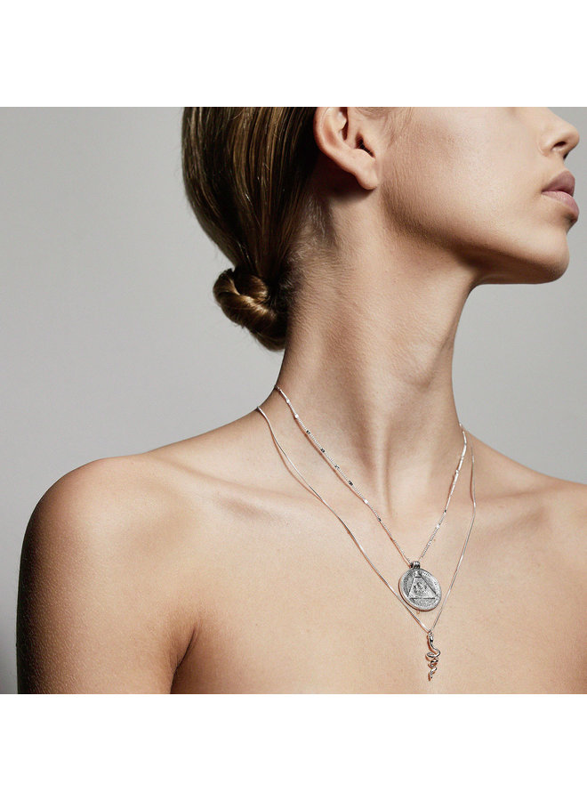 Necklace Sensitivity Silver Plated - 112036001