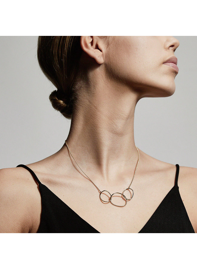 Necklace Nika Gold Plated - 612032001