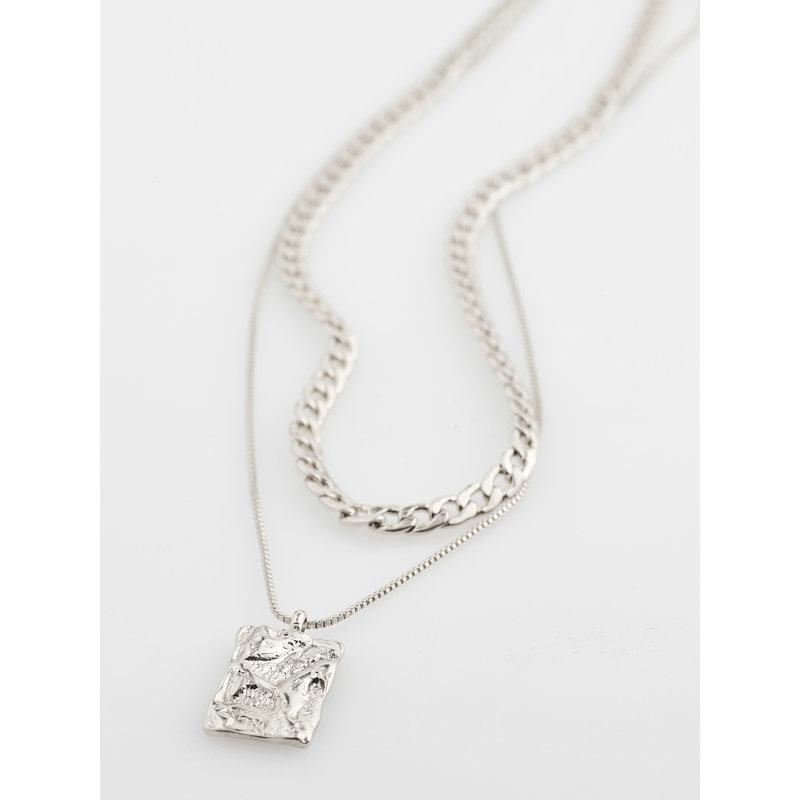 Pilgrim Necklace Bathilda Silver Plated - 612116001