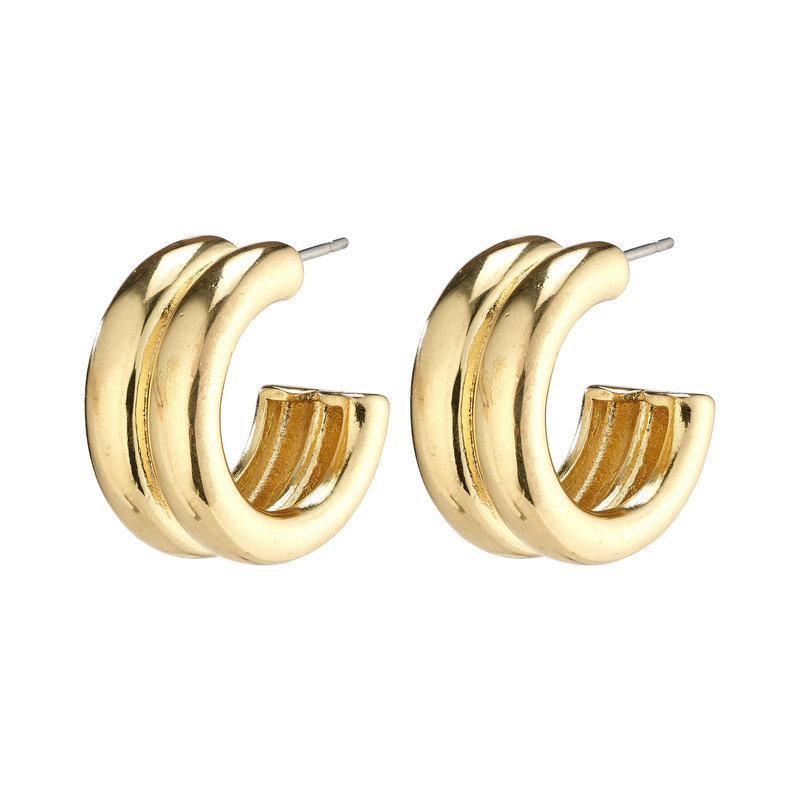 Pilgrim Earrings Heritage Gold Plated - 112112003