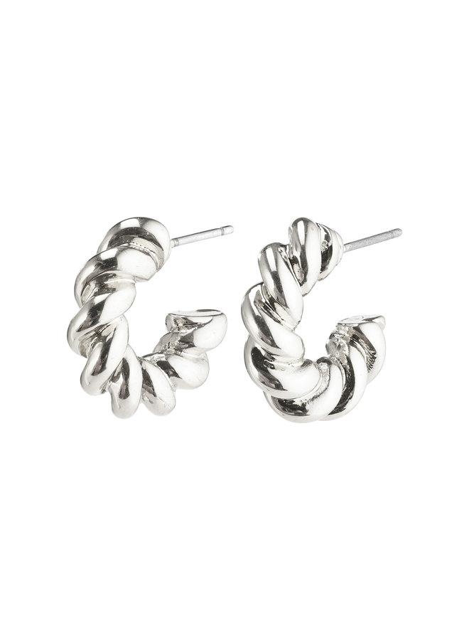 Earrings Gabrina Silver Plated - 262116033