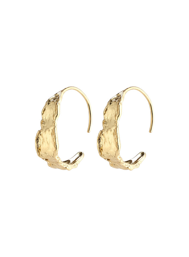 Earrings Compass Gold Plated - 102112003