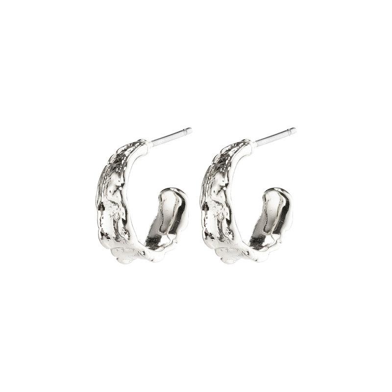 Pilgrim Earrings Bathilda Silver Plated - 612116003