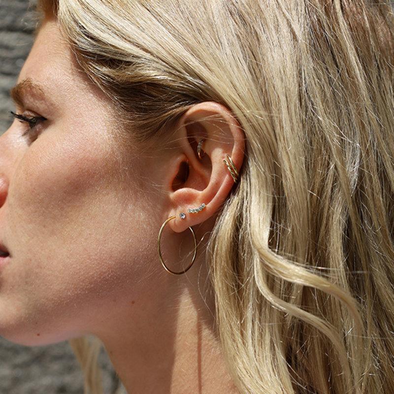 Pilgrim Earring Sanne Silver Plated - 631716063