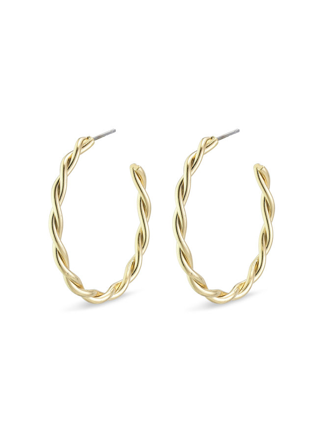 Earring Naja Gold Plated - 281942013