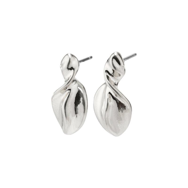 Pilgrim Earring Hollis Silver Plated - 632036013