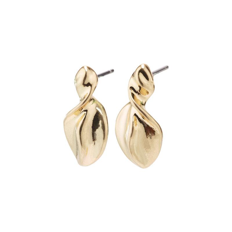 Pilgrim Earring Hollis Gold Plated - 632032013