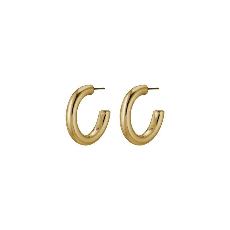 Pilgrim Earring Dolag Gold Plated - 111732003