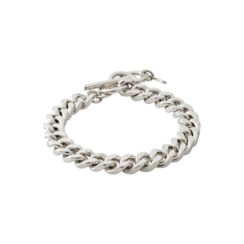 Pilgrim Bracelet Water Silver Plated - 122016002
