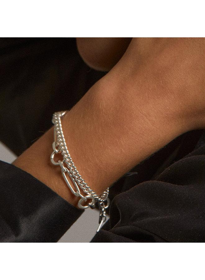 Bracelet Sensitivity Silver Plated - 112036002