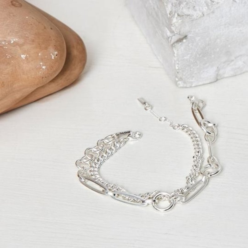 Pilgrim Bracelet Sensitivity Silver Plated - 112036002
