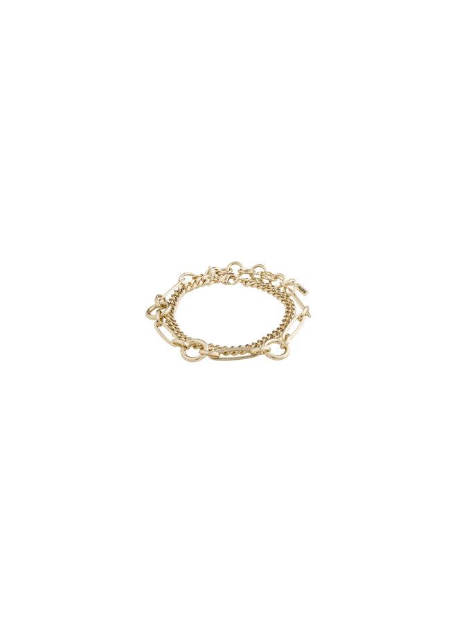 Bracelet Sensitivity Gold Plated - 112032002