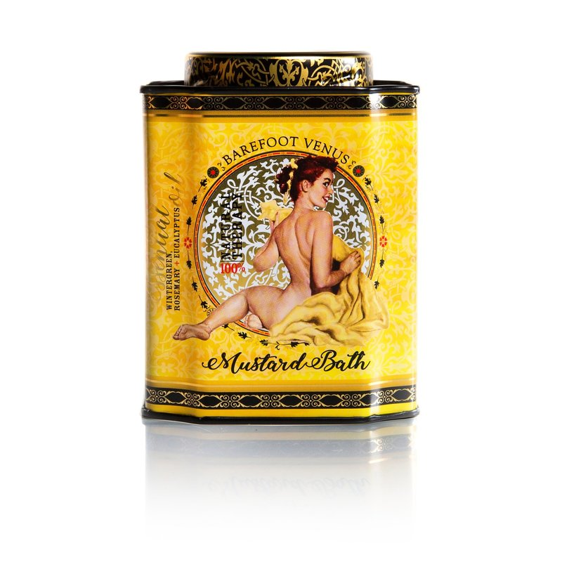 Barefoot Venus Mustard Bath Salts