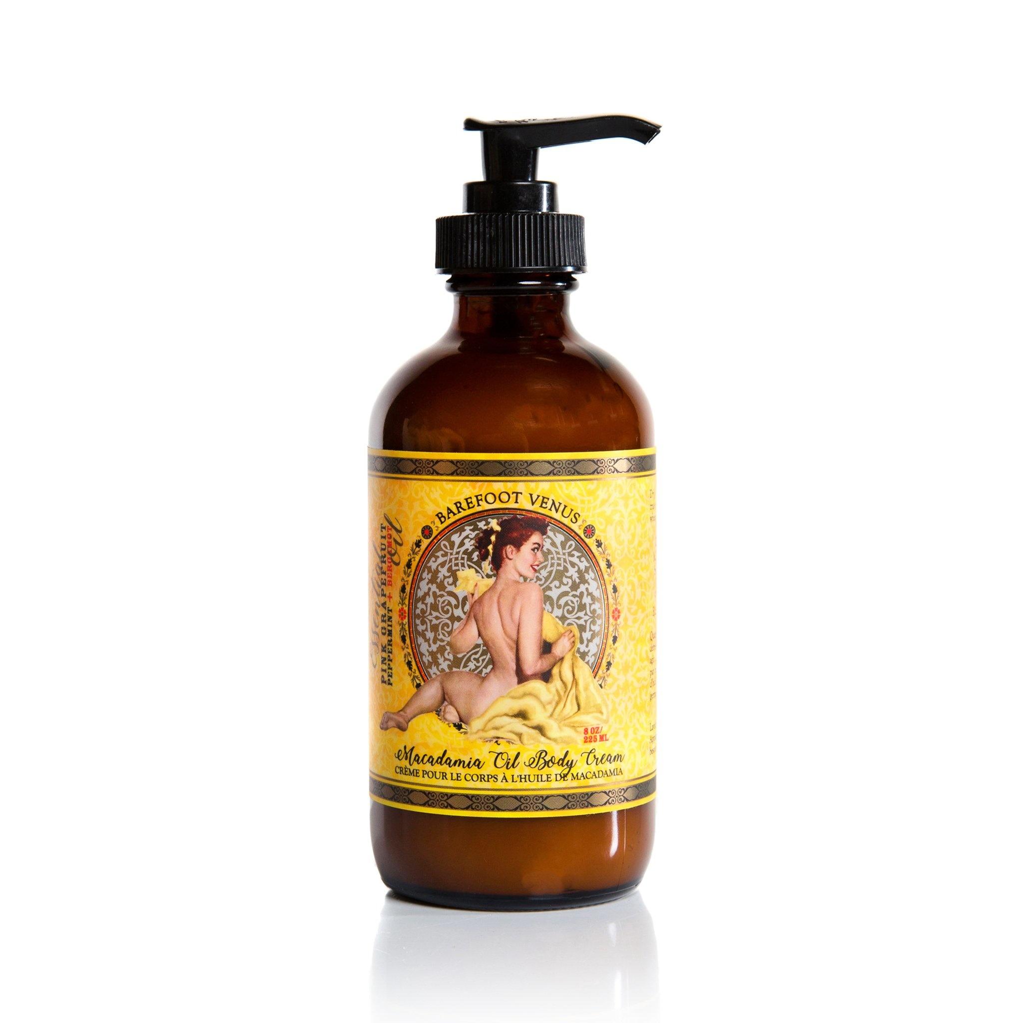 Barefoot Venus Mustard Bath Body cream