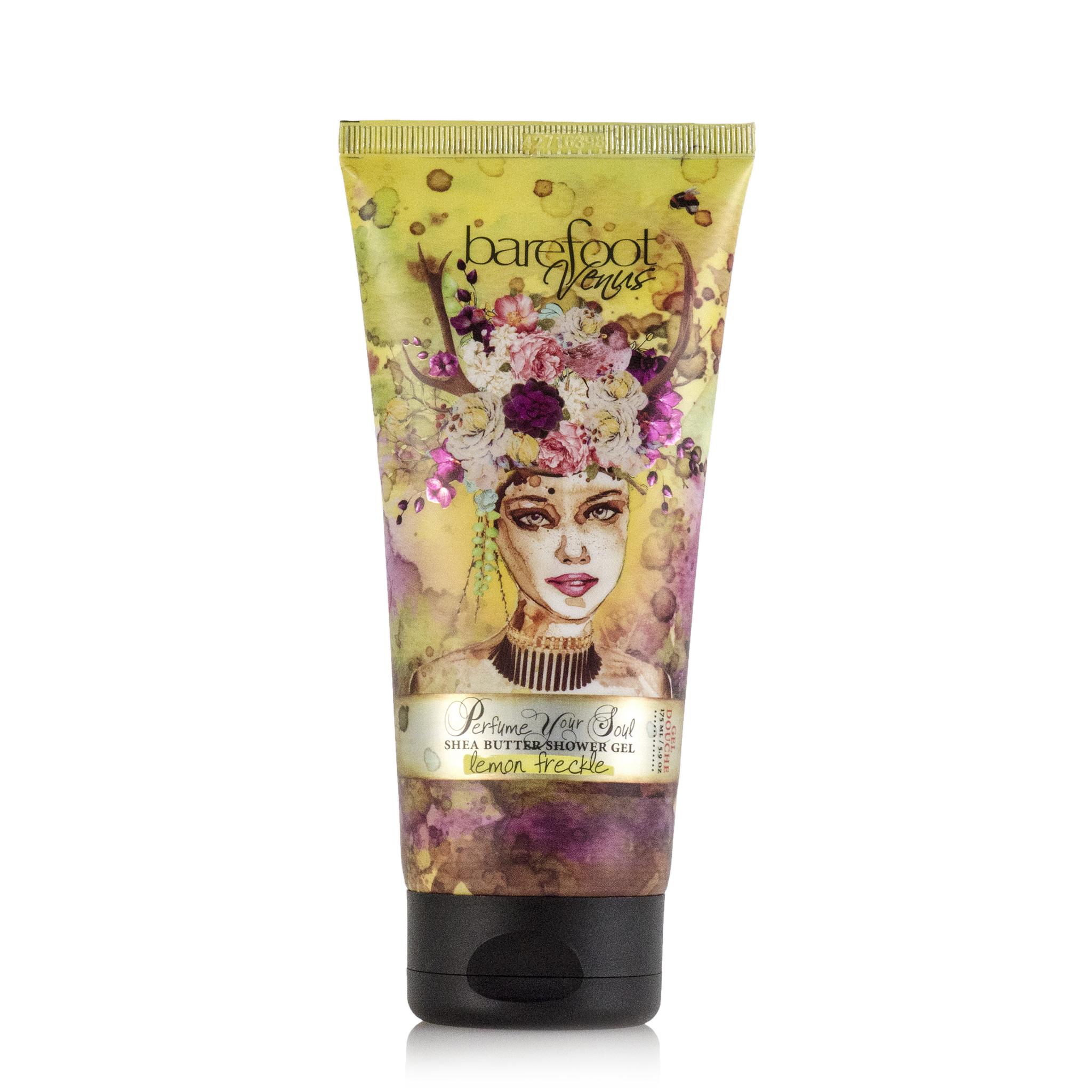 Barefoot Venus Lemon Freckle Shower gel
