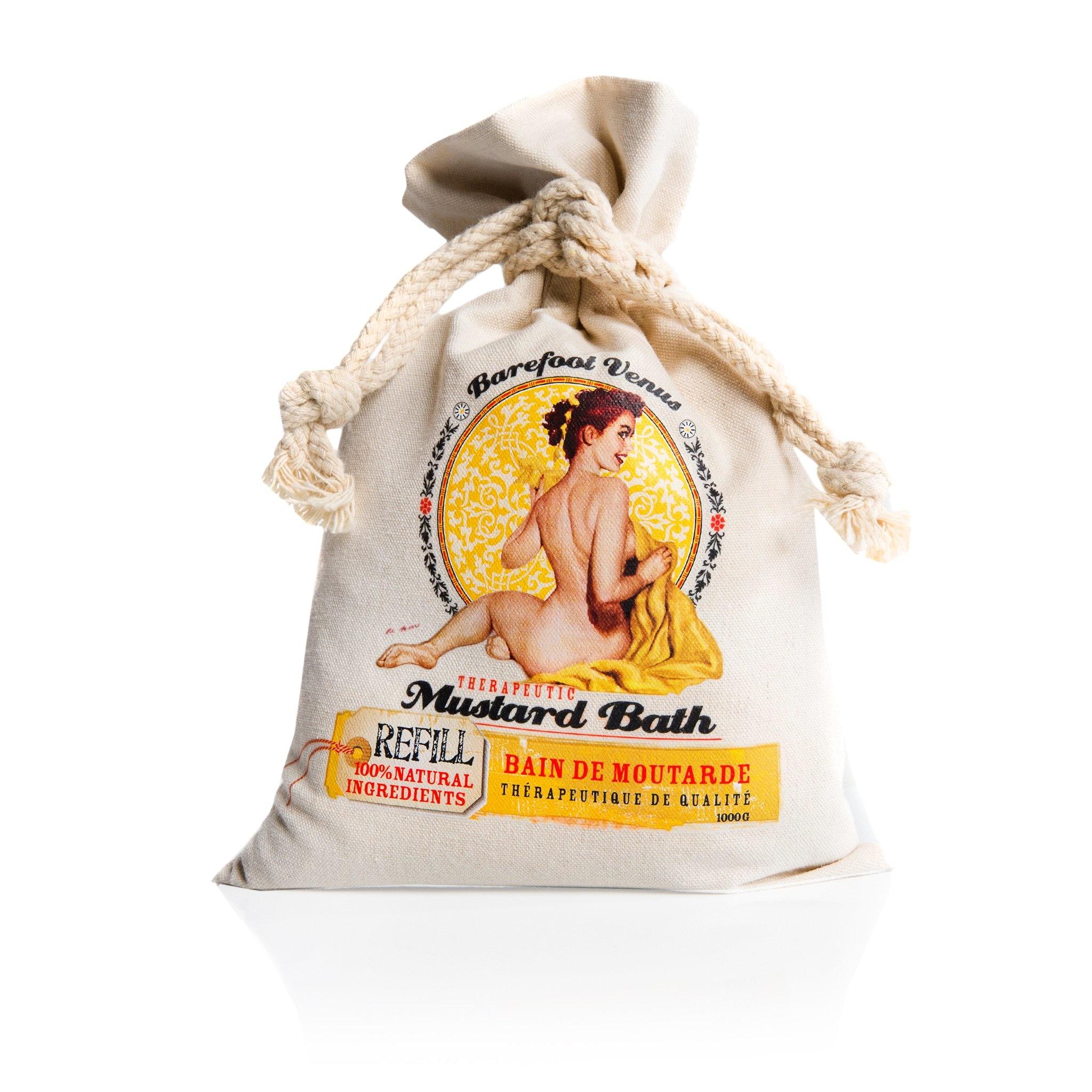 Barefoot Venus Mustard Bath Salts Refill
