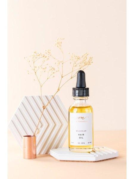 OM Organics Wild Plum Hair Oil