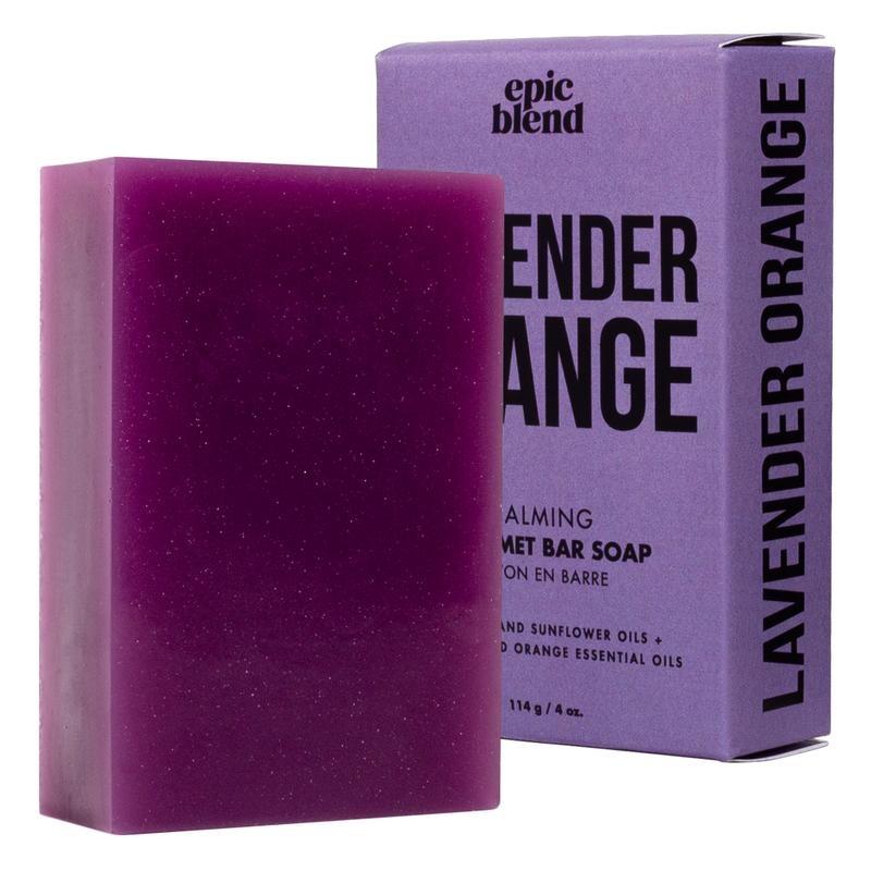Epic Blend Bar Soap Lavender Orange