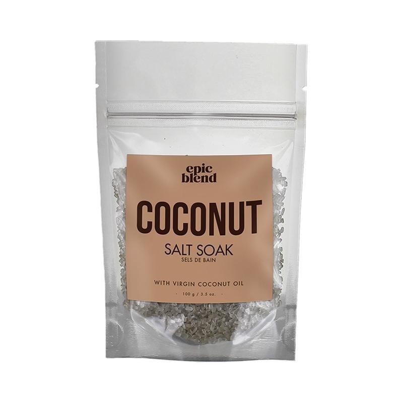 Epic Blend Salt Soak Coconut 3.5oz