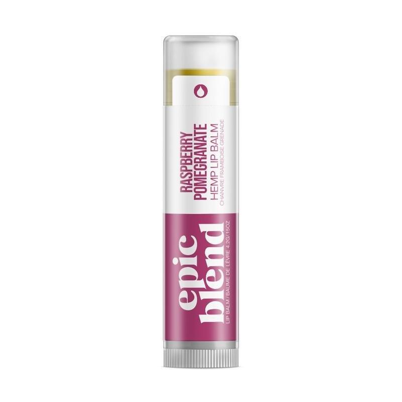 Epic Blend Hemp Lip Balm-Raspberry Pomegranate
