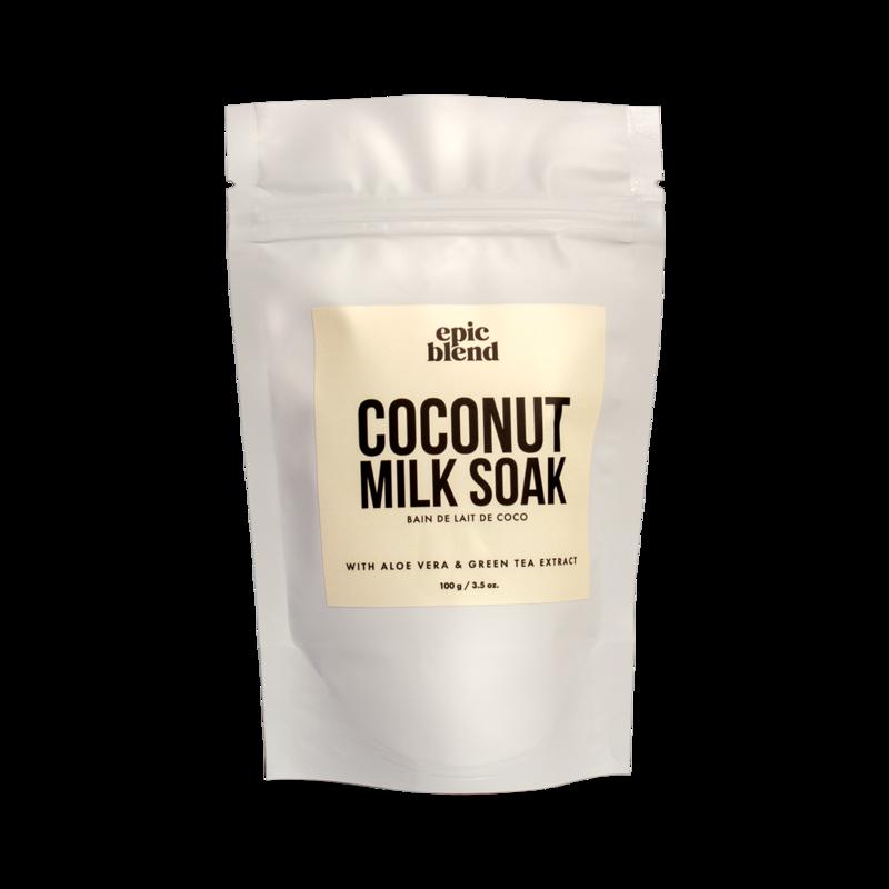 Epic Blend Milk Soak Coconut 3.5oz