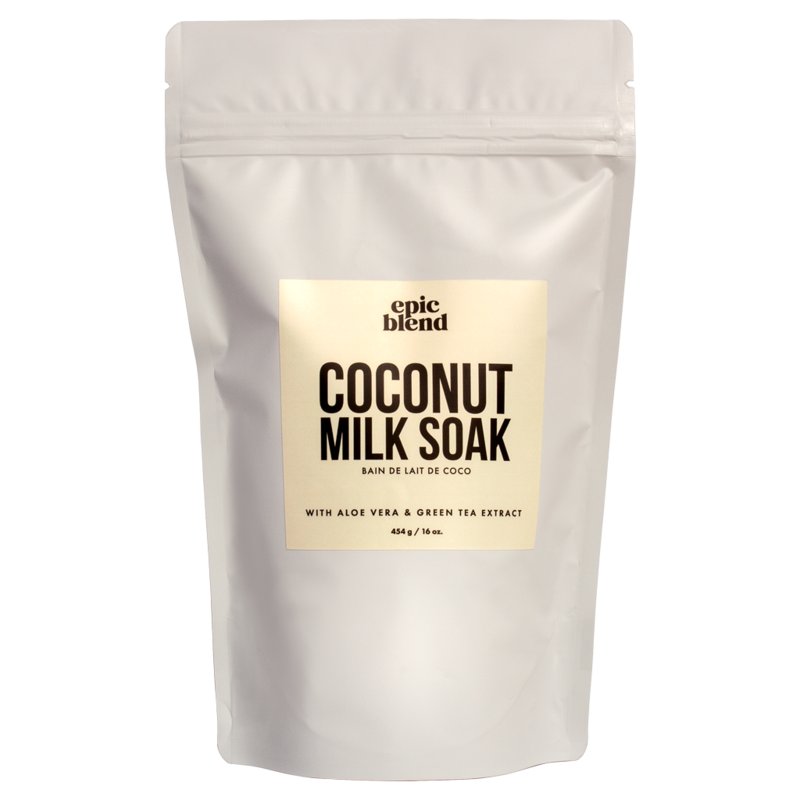 Epic Blend Milk Soak Coconut 16oz