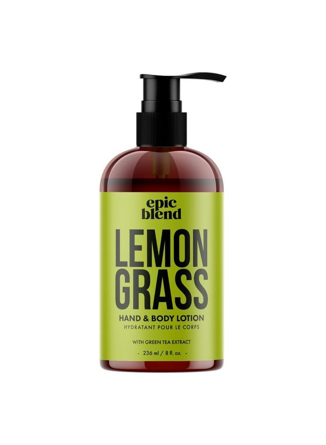 Hand and Body Lotion Lemon Grass 8oz