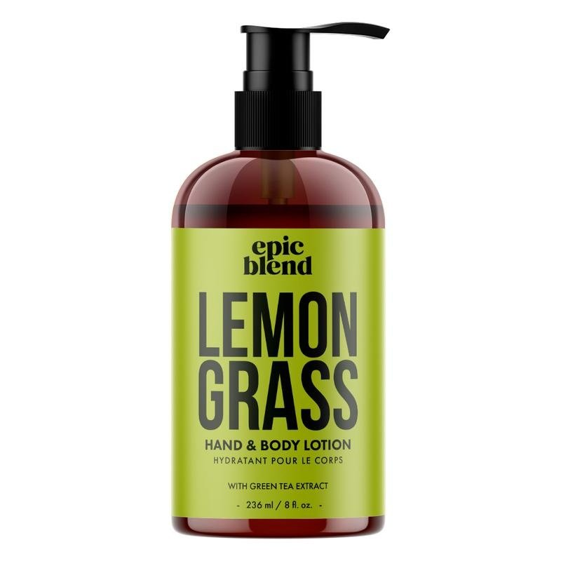 Epic Blend Hand and Body Lotion Lemon Grass 8oz