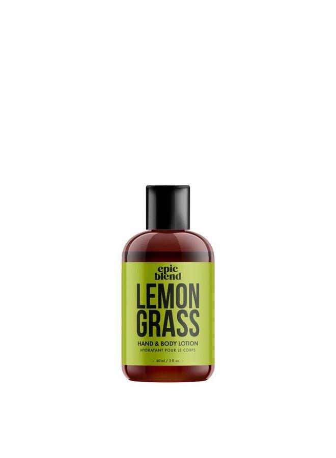 Hand and Body Lotion Lemon Grass 2oz