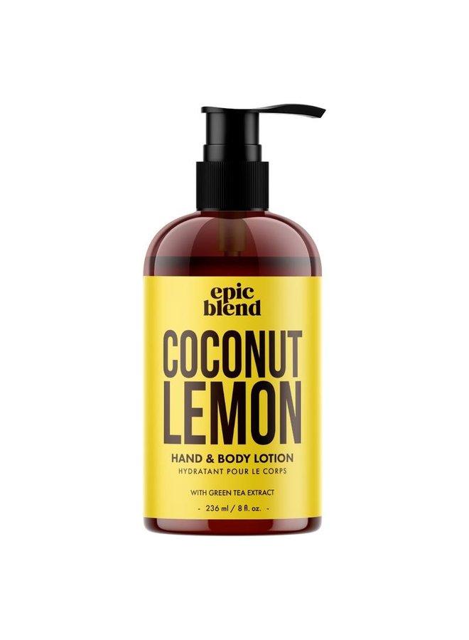 Hand and Body Lotion Coconut Lemon 8oz