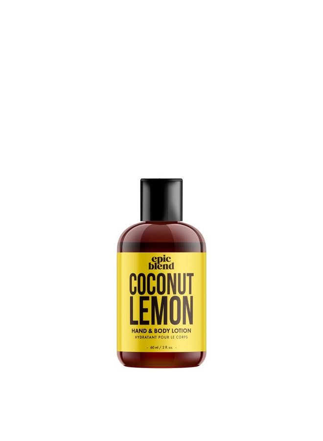 Hand and Body Lotion Coconut Lemon 2oz