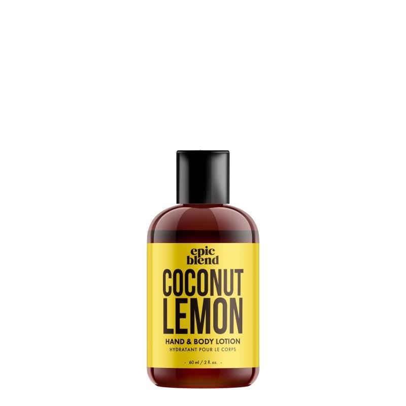 Epic Blend Hand and Body Lotion Coconut Lemon 2oz