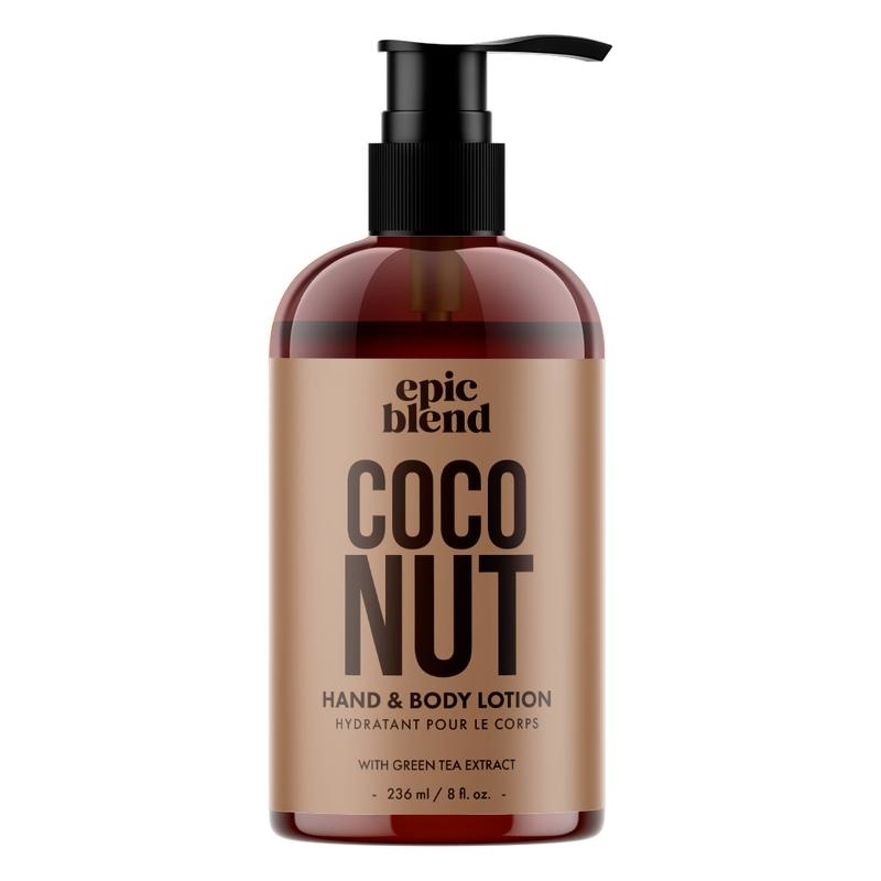 Epic Blend Hand and Body Lotion Coconut 8oz