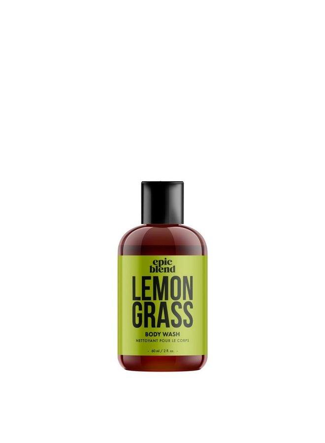 Body Wash Lemongrass 2oz