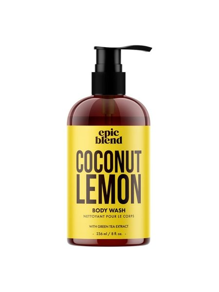 Epic Blend Body Wash Coconut Lemon 8oz